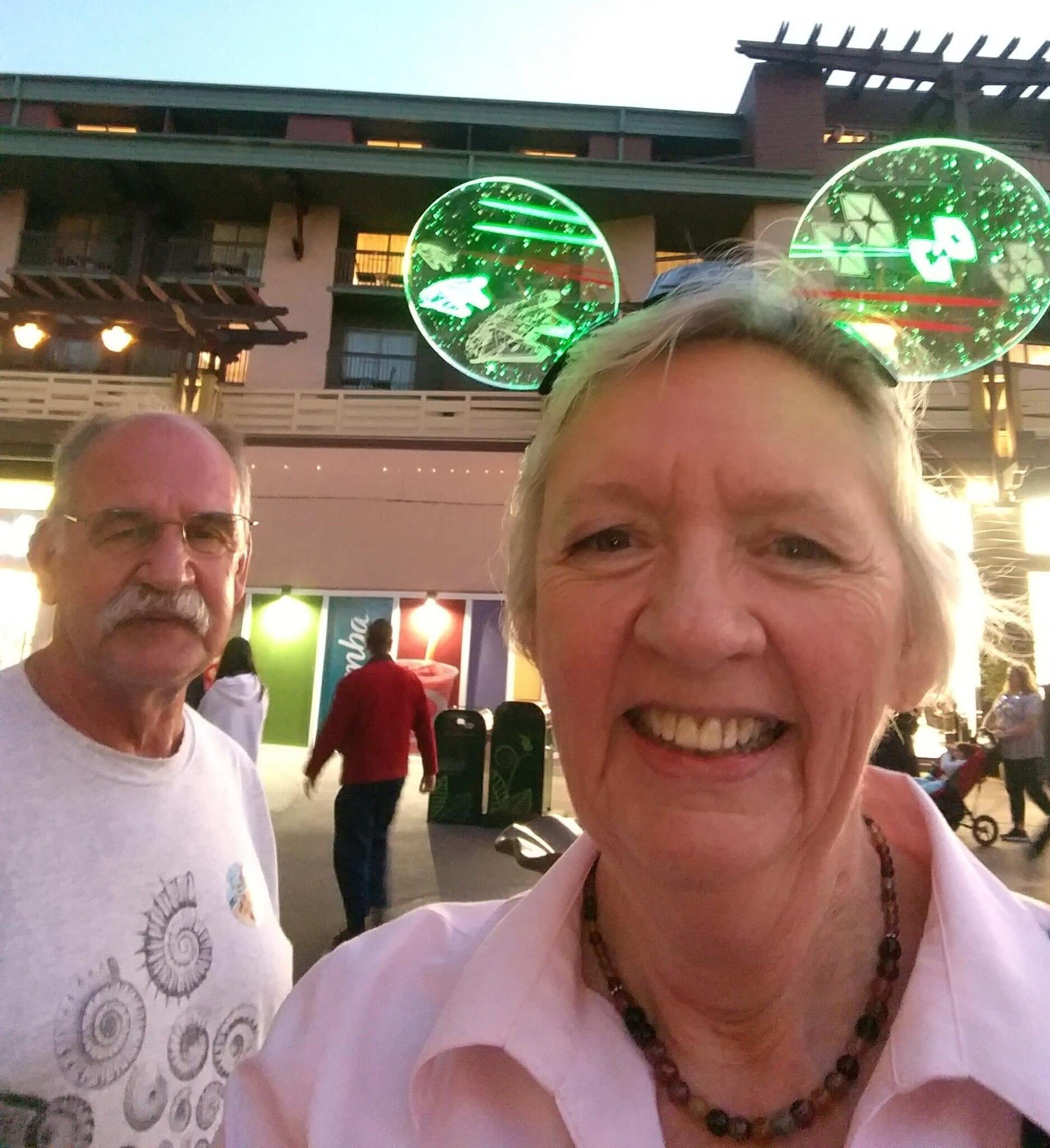 Steve and Susie at Disneyland